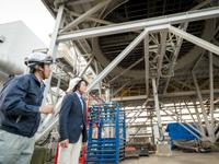 河村隆一の訪問!エコスポット「エフオン白河 大信発電所」