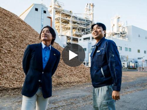 河村隆一さん 訪問!エフオン白河 大信発電所 2016.10.26