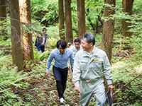 河村隆一の訪問!エコスポット「吾妻森林組合」