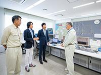 河村隆一の訪問!エコスポット「新潟三面川水系 水力発電所」